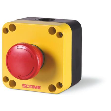 Scame 590.PR01R4N Total stop tlačítko - 590.PR01R4N