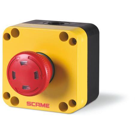 Scame 590.PR01R4S Total stop tlačítko - 590.PR01R4S