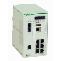 Schneider Electric TCSESM083F1CU0 Ethernet TCP/IP řízený spínač - ConneXium - 7TX/1FX - multimode