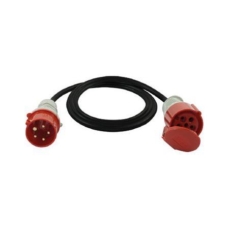 Damija 20500540 SP5-16-2,5-10 Prodlužovací přívod 10m 16A 400V kabel H07RN-F 5G2,5 Elgotech