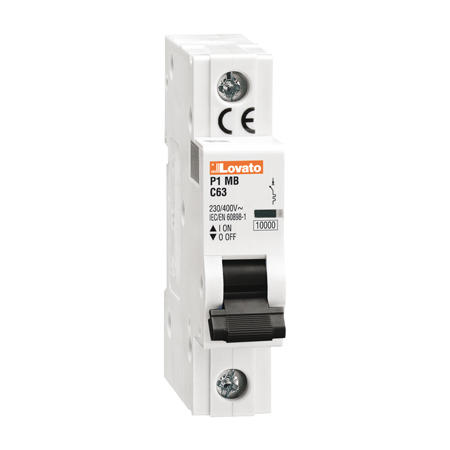 LOVATO Electric P1MB1PD16 Jistič 1-pól, D, 10kA, 16A
