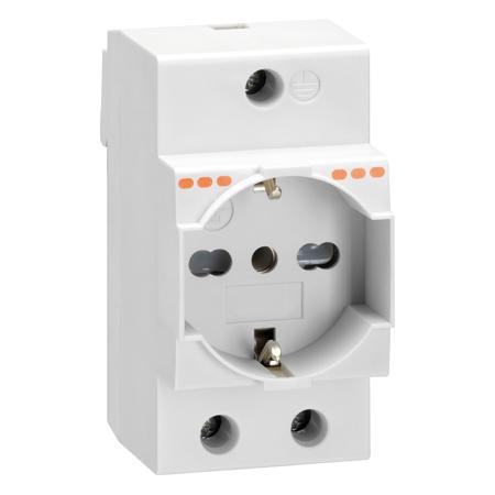 LOVATO Electric P1X7 Zásuvka na DIN lištu 230V/16A