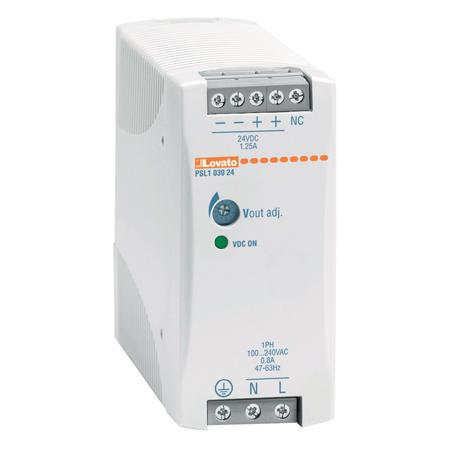 LOVATO Electric PSL106048 Spínaný napájecí zdroj, 60W/1,25A, výstup 48V DC, instal.provedení
