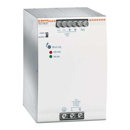 LOVATO Electric PSL124048 Spínaný napájecí zdroj, 240W/5A, výstup 48V DC, instal.provedení