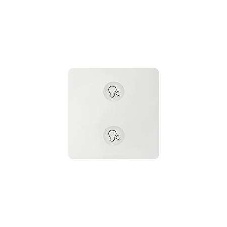 Simon 8000625-030 Klávesnice Sense bílá Ikony:Custom T3