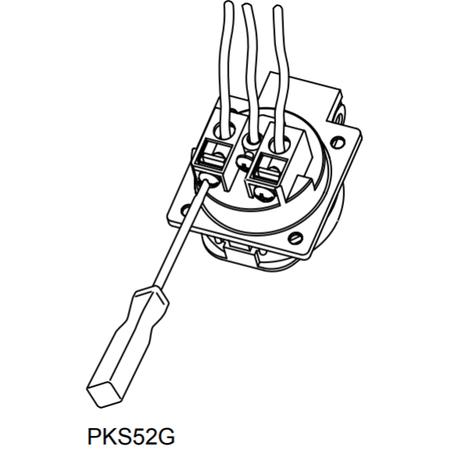 Schneider Electric PKS52G Zásuvka schuko 50 x 50 16A 2P+PE 250V IP54 šedá