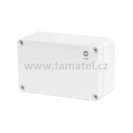 Famatel 68070 Krabice SolidBox IP65, 170x105x82mm, plné víko, hladké boky