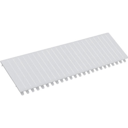 Hager S35S Krycí lišta bílá pro 12 modulů