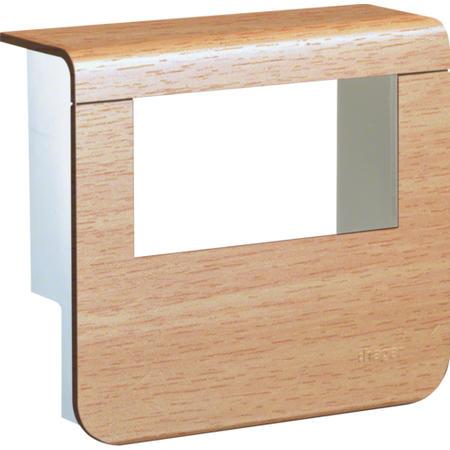 Hager SL20055932D2 Kryt přístrojové krabice pro SL lištu výšky 55 mm, buk