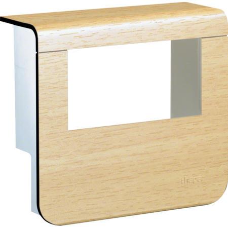 Hager SL20055932D3 Kryt přístrojové krabice pro SL lištu výšky 55 mm, javor