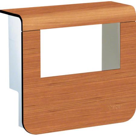 Hager SL20055932D4 Kryt přístrojové krabice pro SL lištu výšky 55 mm, třešeň