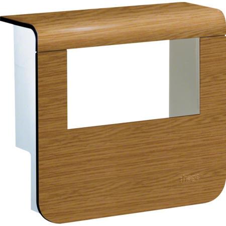Hager SL20055932D5 Kryt přístrojové krabice pro SL lištu výšky 55 mm, dub