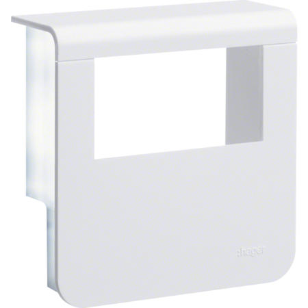 Hager SL200809329010 Kryt přístrojové krabice pro SL lištu výšky 80 mm, bílá
