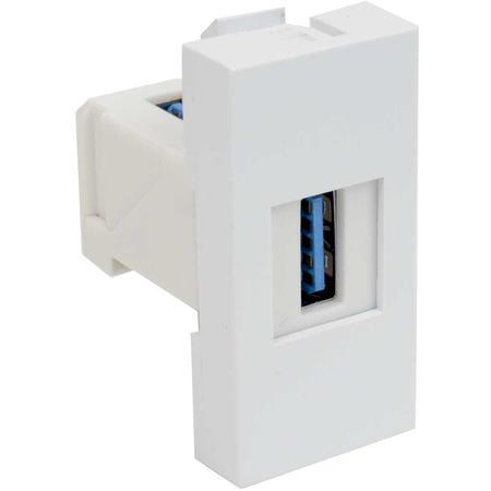 Kopos QD 45X22.5-USB_HB Zásuvkový modul QUADRO - zásuvka datová s koncovkou USB