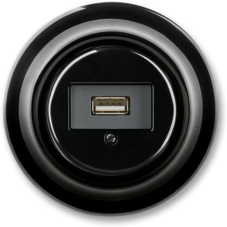 ABB 5014K-C00420 N Zásuvka komunikační USB, černá