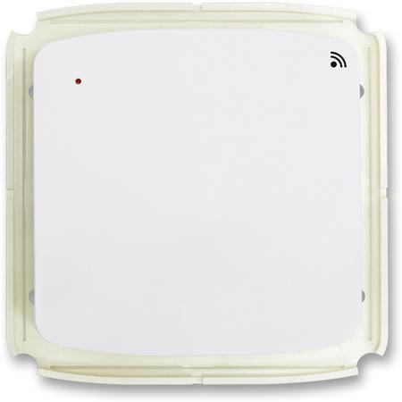 ABB 3299A-A11908 B Vysílač radiofrekvenčního (RF) signálu s krátkocestným ovladačem, nástěnný, bílá