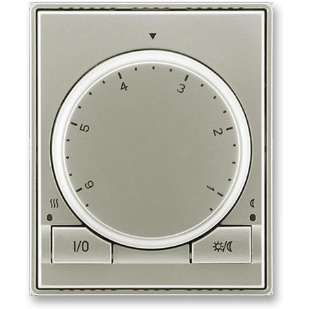 ABB 3292E-A10101 32 Termostat univerzální s otočným nastavením teploty (ovl. jednotka), starostříbrná