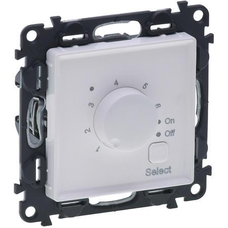 Legrand 752134 VALENA LIFE bílá termostat pro podlahové topení