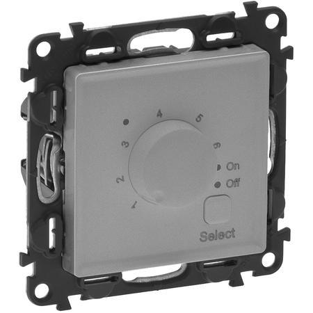Legrand 752334 VALENA LIFE hliník termostat pro podlahové topení