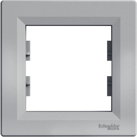 Schneider Electric EPH5800161 Rámeček jednonásobný, alu