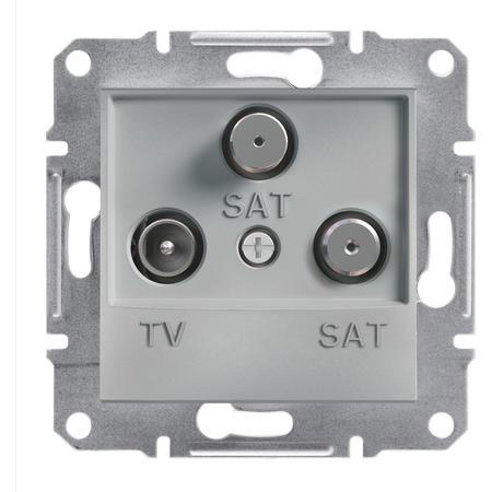 Schneider Electric EPH3600161 Zásuvka TV-SAT-SAT, koncová, alu