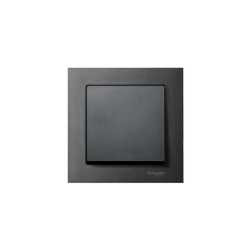 schneider electric mtn433114 merten system m kryt sp na e antracit. Black Bedroom Furniture Sets. Home Design Ideas