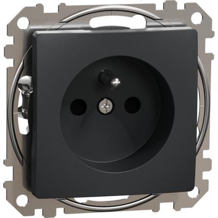 Schneider Electric SDD114012 Zásuvka 230V 16A cl bezšroubová antracit