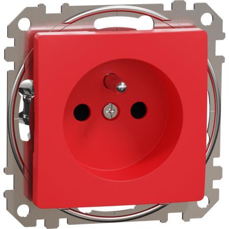 Schneider Electric SDD115011 Zásuvka 230V 16A clonky šroubová červená