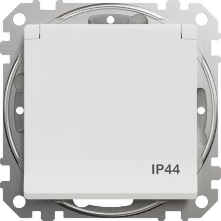 Schneider Electric SDD211013 Zásuvka 230V 16A IP44 šroubová bílá