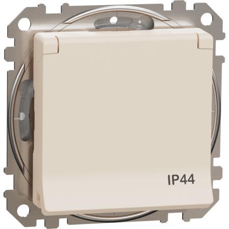 Schneider Electric SDD212013 Zásuvka 230V 16A IP44 šroubová béžová