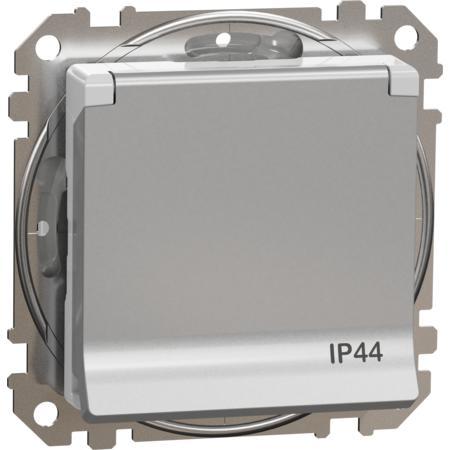 Schneider Electric SDD213013 Zásuvka 230V 16A IP44 šroubová alu