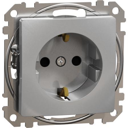 Schneider Electric SDD113022 Zásuvka 230V 16A SCHUKO alu
