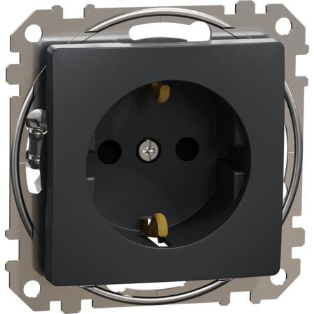 Schneider Electric SDD114021 Zásuvka 230V 16A SCHUKO antracit