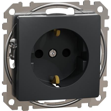 Schneider Electric SDD114022 Zásuvka 230V 16A SCHUKO antracit