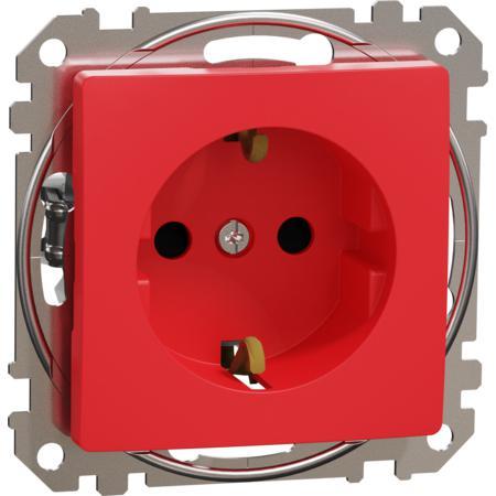 Schneider Electric SDD115021 Zásuvka 230V 16A SCHUKO červená