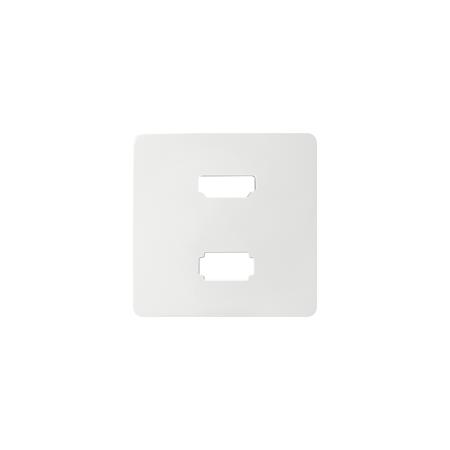 Simon 8201095-030 Kryt pro zásuvka USB + HDMI (V1.4) bílá
