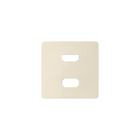 Simon 8201095-031 Kryt pro zásuvka USB + HDMI (V1.4) krémová