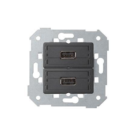 Simon 7501090-039 2 x zásuvka USB (2.0) typ A