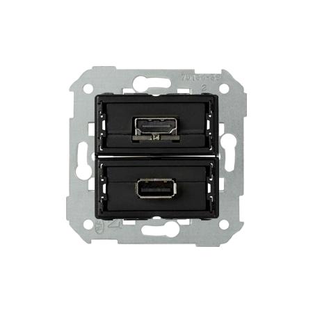 Simon 7501095-039 Zásuvka USB + HDMI (V1.4)